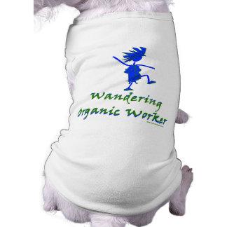 Trabajador orgánico que vaga ALTAVOZ DE GRAVES Camisetas De Perrito