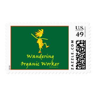 Trabajador orgánico que vaga (ALTAVOZ DE GRAVES) Sellos Postales