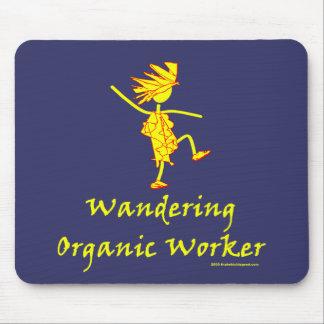 Trabajador orgánico que vaga (ALTAVOZ DE GRAVES) Alfombrilla De Raton
