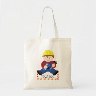Trabajador para los niños bolsa tela barata