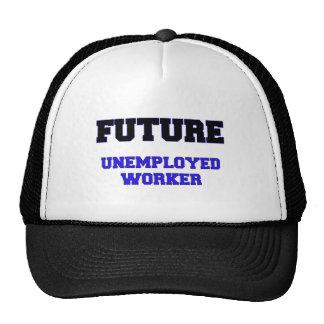 Trabajador parado futuro gorra