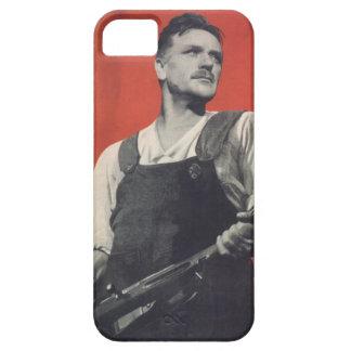 Trabajador soviético iPhone 5 cobertura