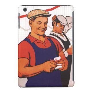 Trabajador soviético funda de iPad mini