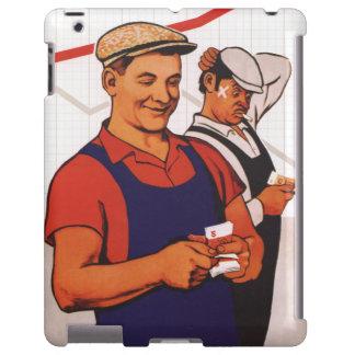 Trabajador soviético funda para iPad