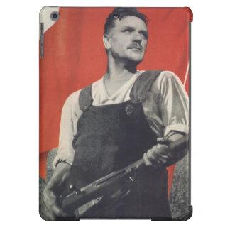 Trabajador soviético funda para iPad air
