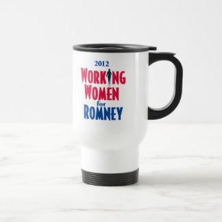TRABAJADORAS de Romney Taza Térmica