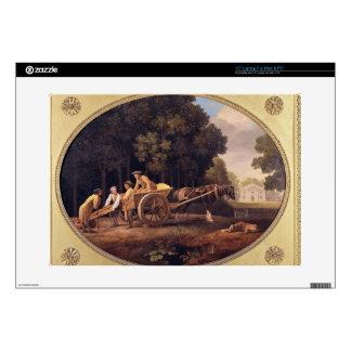 Trabajadores, 1781 (esmalte en earthe de la gallet portátil skins