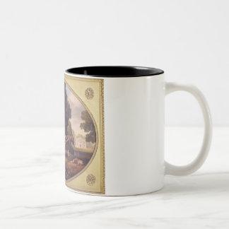 Trabajadores, 1781 (esmalte en earthe de la gallet taza de café
