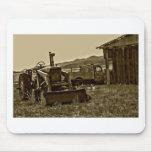 Trabajadores de granja tapetes de ratón