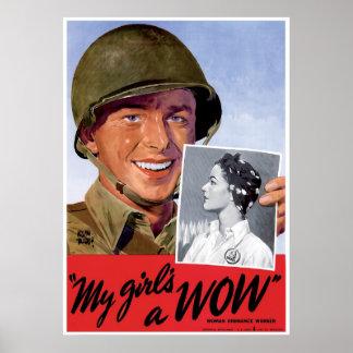 Trabajadores de la artillería de las mujeres de WW Impresiones
