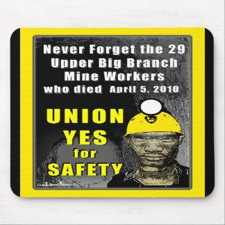 Trabajadores de mina Mousepad