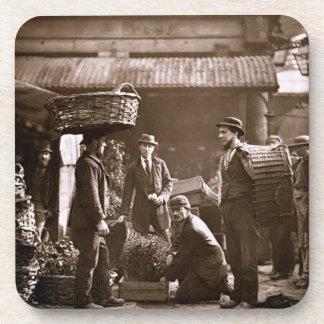 Trabajadores del jardín de Covent (woodburytype) Posavasos De Bebida