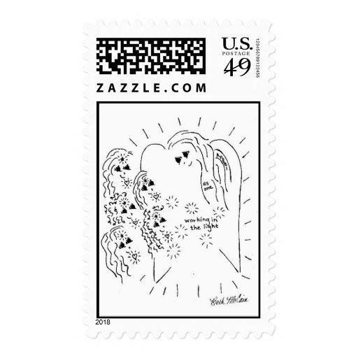"""Trabajadores ligeros"" que recolectan sellos posta"
