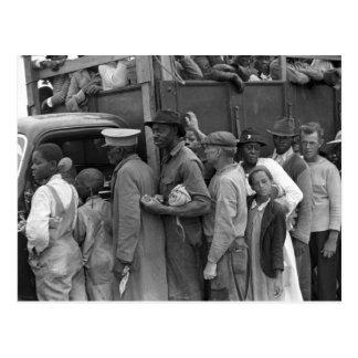 Trabajadores vegetales migratorios: 1939 tarjeta postal