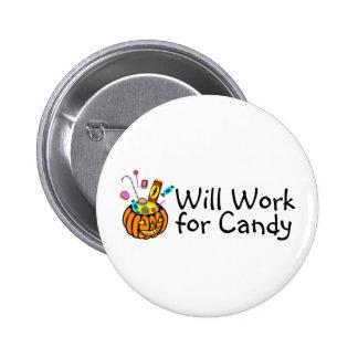 Trabajará para el caramelo de Halloween Pins