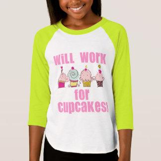 Trabajará para la camiseta de los niños de las