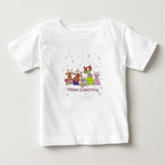Trabajará para la camiseta del bebé de las Felices Poleras