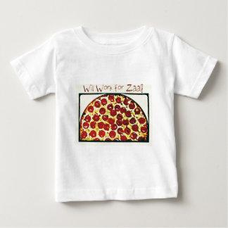 Trabajará para la pizza poleras