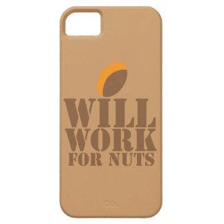 Trabajará para las NUECES Funda Para iPhone SE/5/5s