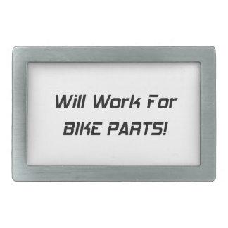 Trabajará para las piezas de la bici hebillas cinturon rectangulares