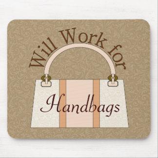 Trabajará para los bolsos Mousepad Tapete De Ratón