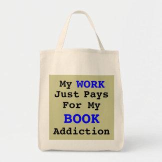 Trabajará para los libros bolsa