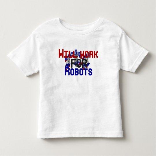 Trabajará para los robots playera de bebé