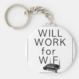 Trabajará para WiFi Llavero Redondo Tipo Pin