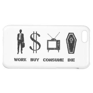 Trabaje, compre, consuma, muera - el círculo de la