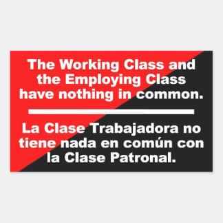 trabaje la clase y emplee la clase no tienen nada rectangular altavoz