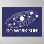 ¡Trabaje Sun! Impresiones