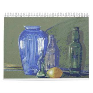 trabajo 2009 del Calendario-arte de Colette Curtis Calendario