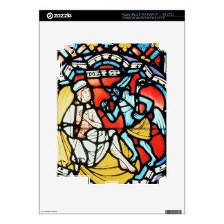 Trabajo atormentado por el diablo, siglo XII (manc iPad 3 Pegatina Skin