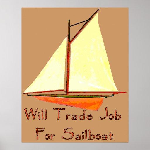 Trabajo comercial para el velero póster