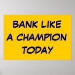 Trabajo como un campeón poster