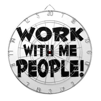 Trabajo conmigo trabajo del equipo de la gente