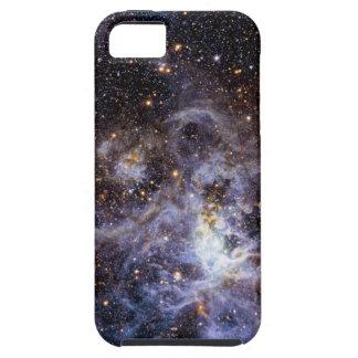 Trabajo de arte hermoso de la galaxia funda para iPhone 5 tough