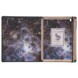 Trabajo de arte hermoso de la galaxia iPad carcasa