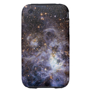 Trabajo de arte hermoso de la galaxia iPhone 3 tough carcasa