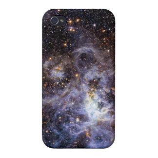 Trabajo de arte hermoso de la galaxia iPhone 4 funda
