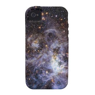 Trabajo de arte hermoso de la galaxia vibe iPhone 4 carcasas