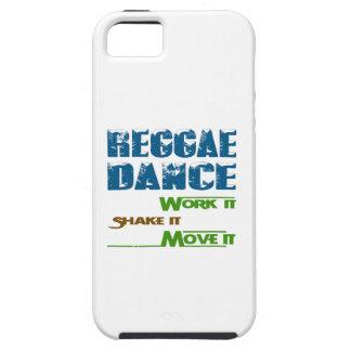Trabajo de la danza del reggae él sacudida él iPhone 5 fundas