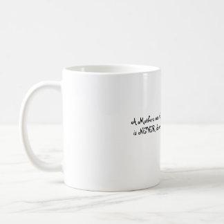 Trabajo de las madres tazas de café