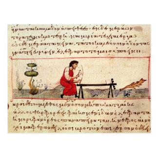 Trabajo de marfil tradicional de ms Grec 479 Tarjeta Postal