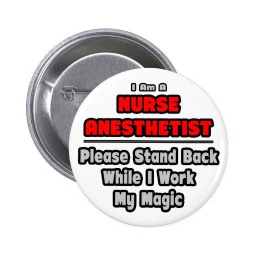 Trabajo del Anesthetist de la enfermera… mi magia Pins