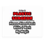 Trabajo del cirujano plástico… mi magia tarjetas postales