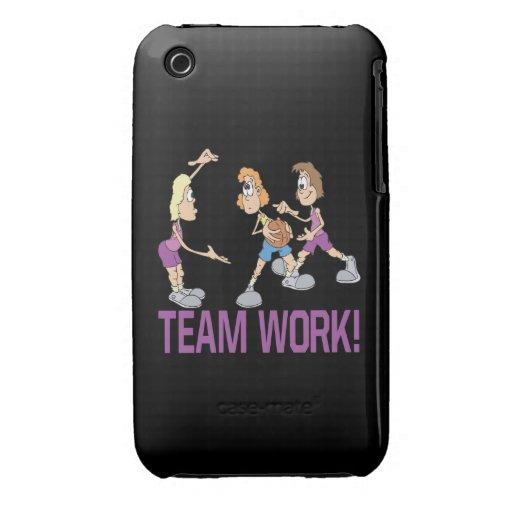 Trabajo del equipo iPhone 3 cobreturas