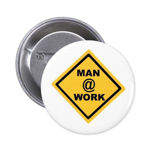 Trabajo del hombre @ pin