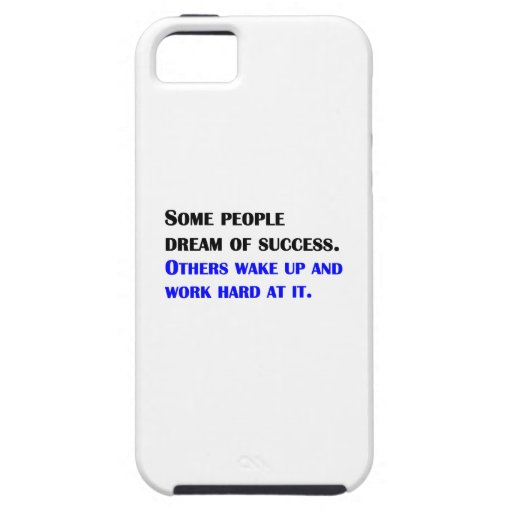 Trabajo difícilmente en el éxito iPhone 5 cárcasa