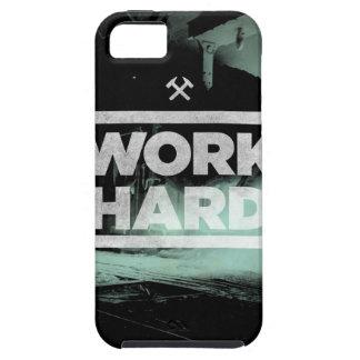 Trabajo difícilmente iPhone 5 Case-Mate carcasas